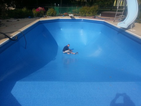 In Ground Pool Vinyl Liner Replacement in Greendale